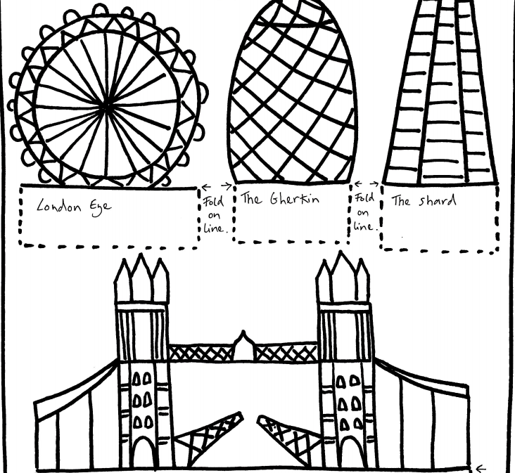 Create your own Folded City with A Line Art