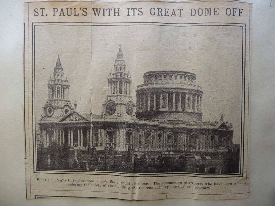 Design a Dome for St Paul's Cathedral