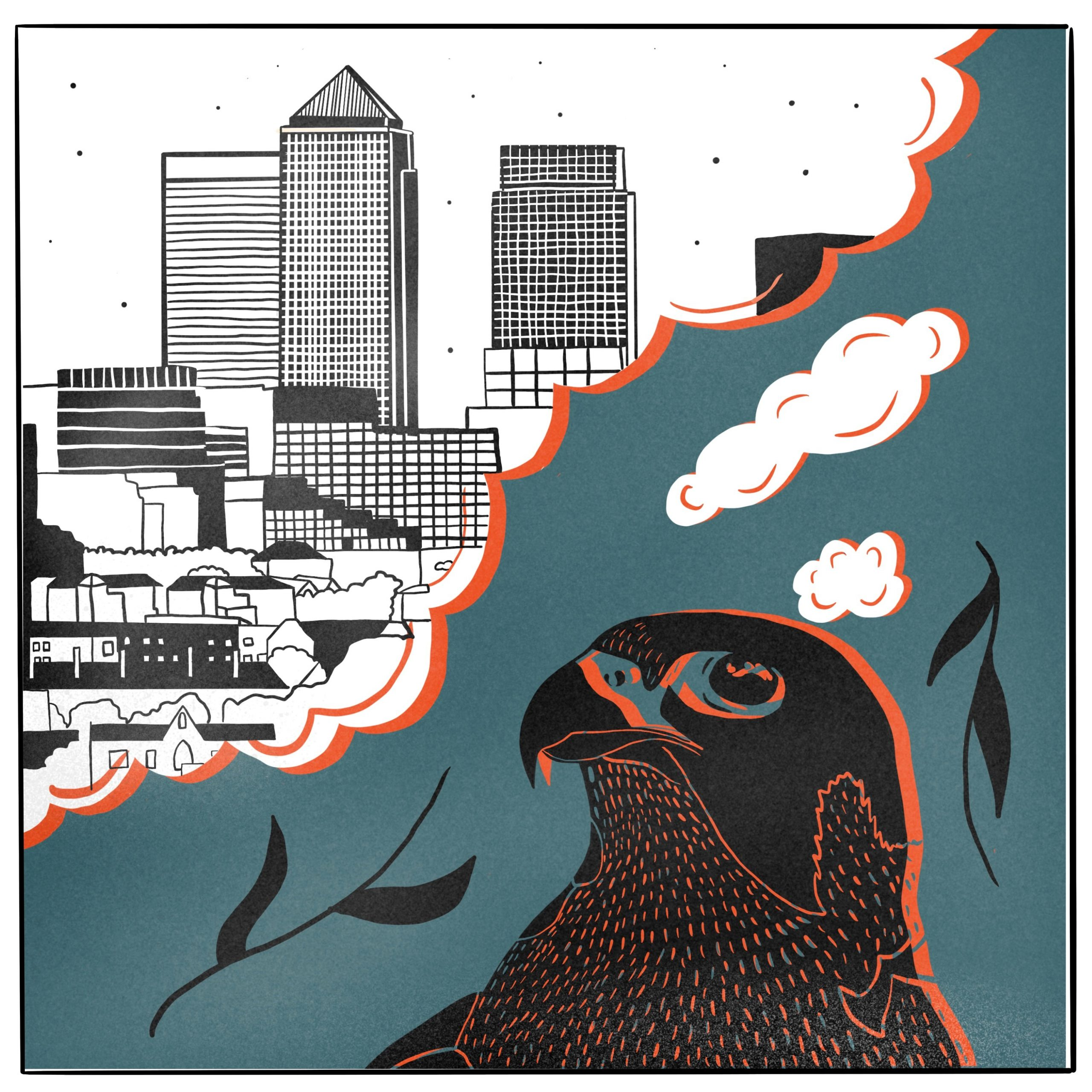 Animal Eyes: Re-design Canary Wharf